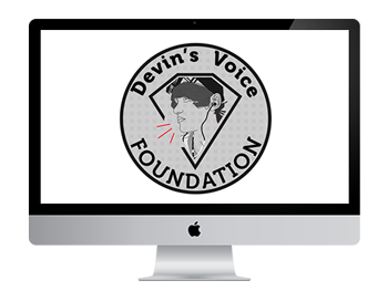 Devin's Voice Foundation Logo